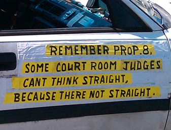 'There not straight' car